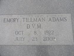 Emory Tillman Adams