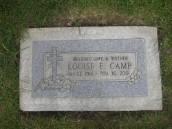 Louise E <i>Kingsbury</i> Camp