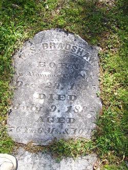 W. S. Bradshaw