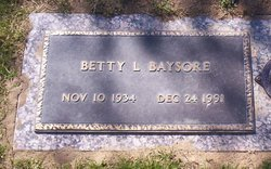 Betty L. <i>Temple</i> Baysore