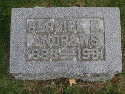 Bernice E <i>James</i> Andrews