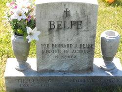 PFC Bernard Joseph Belfe