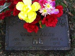 Opal Lee <i>Brown</i> Allen