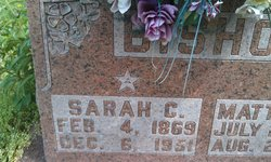 Sarah Caroline <i>Hayes</i> Bishop