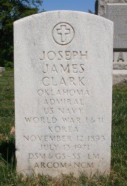 Adm Joseph James Jocko Clark
