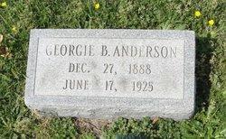 Georgie <i>Bensten</i> Anderson