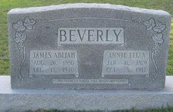 Annie Eliza <i>Dunn</i> Beverly