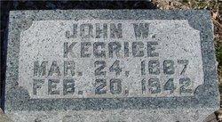 John W. Kegrice