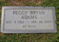 Peggy <i>Bryan</i> Adams