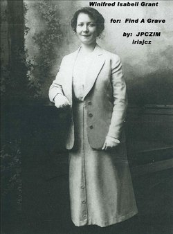 Winifred Isabell Winnie <i>Grant</i> Adair