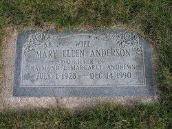 Mary Ellen <i>Andrews</i> Anderson