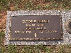 Clyde Buddy Bland