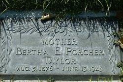 Bertha Emma <i>Porcher</i> Taylor