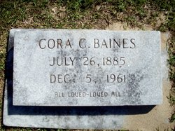 Cora <i>Collie</i> Baines