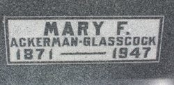 Mary Frances <i>Terry</i> Ackerman Glasscock