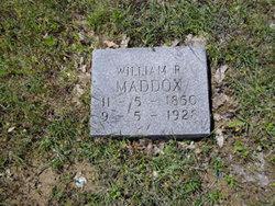 William R Maddox