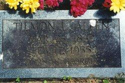 Tilmon Lonzo Allen