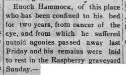 Enoch Hammock