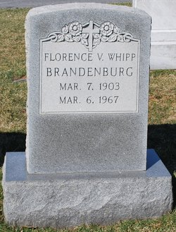 Florence Virginia <i>Whipp</i> Brandenburg