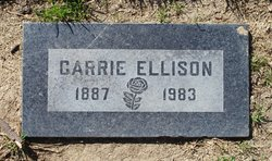 Carrie Ellison