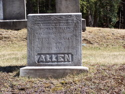Lydia N. Betsey <i>Dunbar</i> Allen