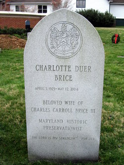 Charlotte <i>Duer</i> Brice