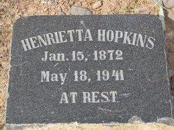 Henrietta Hopkins