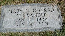 Mary N <i>Conrad</i> Alexander