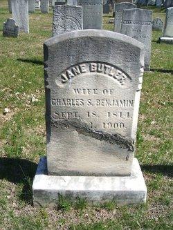 Jane <i>Butler</i> Benjamin