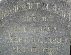 Margaret M <i>Barr</i> Fonda