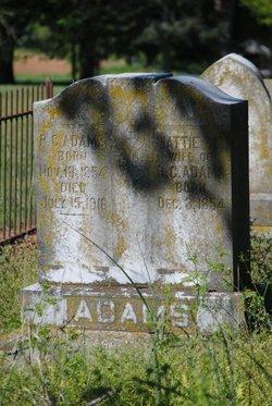 Mattie E. Adams