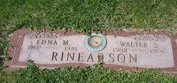 Edna M <i>Hawkins</i> Rinearson