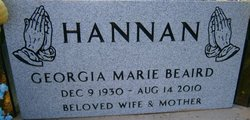 Georgia Marie <i>Beaird</i> Hannan