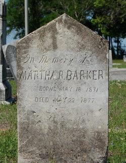 Martha Rebecca <i>Perry</i> Barker