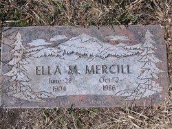 Ella <i>McCain</i> Mercill