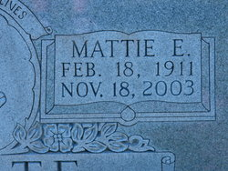Mattie Ruth <i>Eaton</i> White