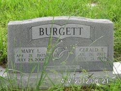 Mary Louise <i>Johnson</i> Burgett