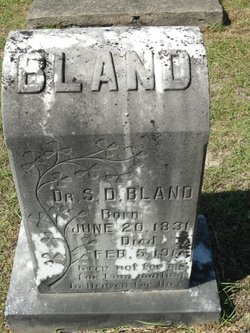 Dr Simeon D. Bland