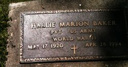 Hallie M Baker