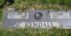 Esther L <i>Howell</i> Kendall