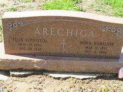 Nora <i>Hamilton</i> Arechiga