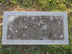Adele <i>Crouch</i> Wolf