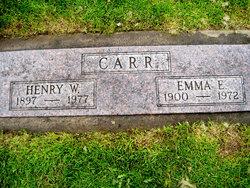 Emma B <i>Sowder</i> Carr