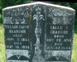 Sarah T. Sallie <i>Herndon</i> Brandon