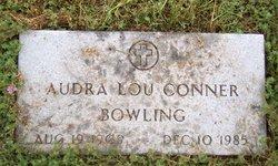 Audra Lou <i>Conner</i> Bowling