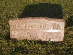 Winnefred Irene Winnie <i>Woods</i> Barnard