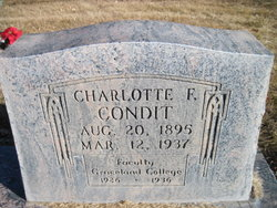 Charlotte Frances Condit