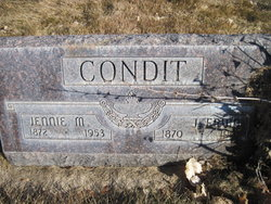 Jennie M <i>Dennis</i> Condit
