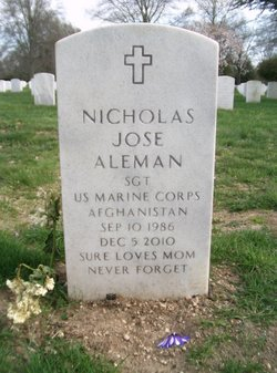 Sgt Nicholas Jose Aleman