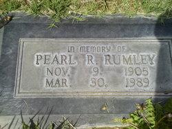 Pearl Rebecca <i>Hanson</i> Rumley